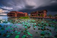 Resort by lake, Bukit Merah Laketown, Malaysia