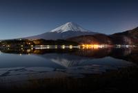 Mt Fuji at night, Yamanashi Prefecture, Japan