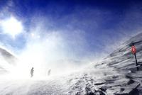 Les Deux Alpes ski resort, Isere, Auvergne-Rhone-Alpes, France