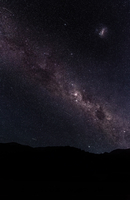 Milky Way above Eglinton Valley, New Zealand
