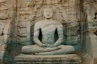 Statue of Buddha, Polonnaruwa, Sri Lanka