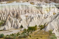 Majestic landscape in Goreme National Park, Cappadocia, Turkey
