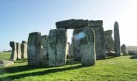 Stonehenge on sunny day, Amesbury, England, UK