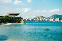 Museum of Contemporary Art, Niteroi, Rio de Janeiro, Brazil