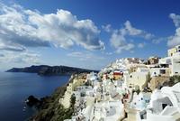 City by sea, Oia, Santorini, Greece