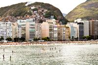 Copacabana beach, Copacabana, Rio de Janeiro, Southeast Region, Brazil