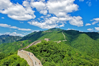 Great wall at daytime, Beijing, China