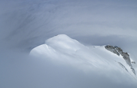 Mont Blanc in snow, France