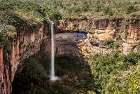 Bridal Veil Falls, Chapada dos Guimaraes National Park, Brazil