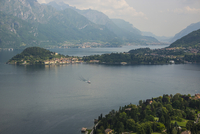 Landscape with lake and mountains, Italy