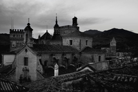 View of old monastery, Guadalupe, Caceres, Spain