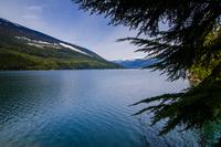 Mountain lake, Revelstoke, Canada