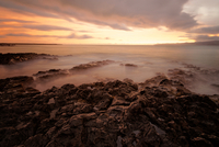 Ocean coastline, Maui, Hawaii, USA