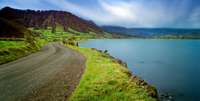 Road near Lagoon of the Seven Cities, Azores, Portugal