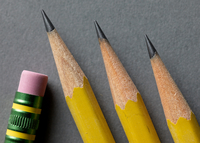 Close-up of pencils