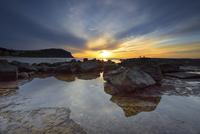 Rocks on coast, New South Wales, Australia