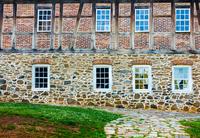 Old building, Single Brothers, Winston Salem, North Caroline, USA 11098045325| 写真素材・ストックフォト・画像・イラスト素材|アマナイメージズ