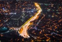 City at night, Seoul, South Korea