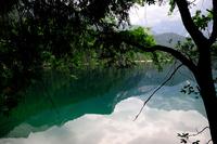Mountain lake, Trentino, Italy