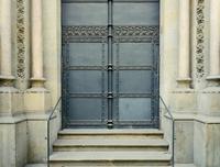 Ornate Door, Spain, Barcelona