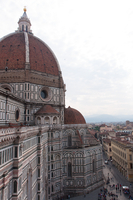 View of cathedral, Brunelleschi, Dome of Cathedral of Florence, Florence, Italy
