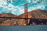 Golden Gate Bridge at daytime, San Francisco, California, USA