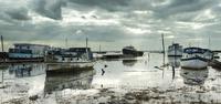 Evening tide, Mersea Island, Essex, UK
