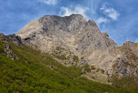 Pania Secca mountain peak in Apuan Alps, Lucca, Tuscany, Italy
