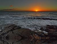 Hallett Cove at sunset, Hallett Cove, Adelaide, South Australia, Australia