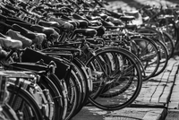 Bicycle parking, Amsterdam, Netherlands