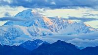 Landscape with mountain at sunrise, Alaska, USA