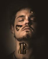 Human face with machine elements 11098048464| 写真素材・ストックフォト・画像・イラスト素材|アマナイメージズ