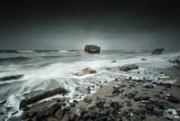 Sea and rocky coastline, Germany
