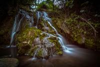 Waterfall in Arrabida Natural Park, Portugal