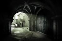 Medieval architecture, Aragon, Teruel, Benquerencia, Spain 11098048594| 写真素材・ストックフォト・画像・イラスト素材|アマナイメージズ