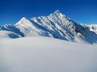Mountains in snow, Austria