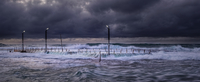 Stormy ocean, Monavale Beach, Australia