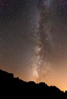 Milky Way over Wadi Rum, Wadi Rum, Aqaba, Jordan