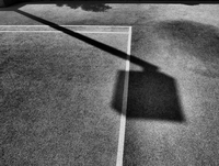 Shadow on court, Hong Kong