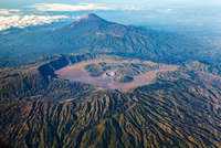 Mount Bromo (Gunung Bromo) crater, Mount Bromo, East Java, Indonesia