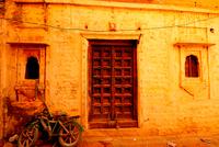 Jaisalmer fort exterior, Jaisalmer, Rajasthan, India 11098050019  写真素材・ストックフォト・画像・イラスト素材 アマナイメージズ