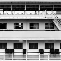 Close-up of ship deck