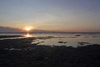 Lakeshore at sunrise