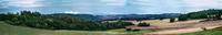 Tranquil landscape, Vogtland, Germany