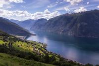 Aurlandsfjord, Sogn og Fjordane, Norway