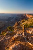Sunset over Grand Canyon, Arizona, USA 11098054126| 写真素材・ストックフォト・画像・イラスト素材|アマナイメージズ