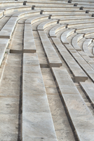 Audience seats of Panathenaic Stadium, Athens, Greece
