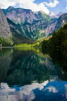 Bavarian Alps and lake, Berchtesgaden, Bavaria, Germany