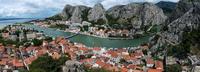Old town of Omis, Omis, Split-Dalmatia County, Croatia