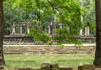 Baphuon Temple ruins, Angkor, Siem Reap, Cambodia